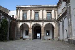 内在庭院Museum di圣Martinio 库存图片