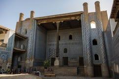 内在清真寺在Kuhna平底船堡垒, Khiva,乌兹别克斯坦 免版税库存图片