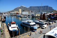 内在港口在开普敦,南非 免版税图库摄影