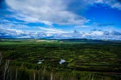 内在蒙古Erguna河 库存照片