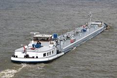 内地罐车船 免版税库存图片