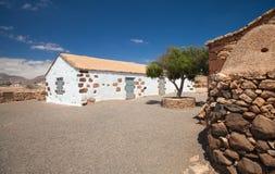 内地费埃特文图拉岛,露天博物馆Ecumuseo la Alcogida 免版税库存照片