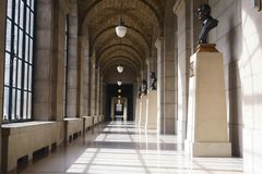 内布拉斯加国会大厦大厦 库存照片