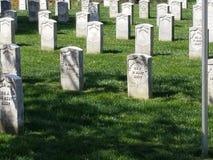 内战坟墓标志 库存图片