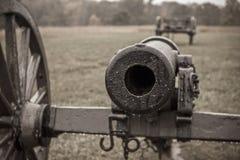 内战大炮 免版税图库摄影
