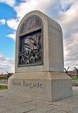 内战爱尔兰旅团纪念碑 库存照片