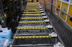 内托食品批发市场 免版税库存图片