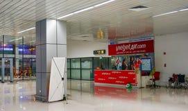 内排国际机场在河内,越南 库存图片