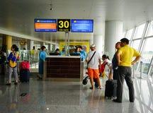 内排国际机场在河内,越南 图库摄影