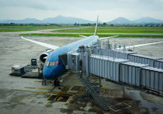 内排国际机场在河内,越南 免版税图库摄影
