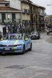 贝内文托,第17可以2015年-环意自行车赛2015年阿斯塔纳汽车 库存照片