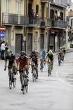 贝内文托,第17可以2015年-环意自行车赛2015年领导人小组 图库摄影