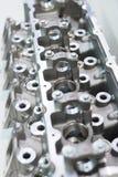 内燃机的气缸盖 免版税库存照片