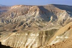 内盖夫、沙漠和南以色列的半沙漠的区域 夏天 免版税库存图片