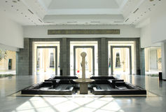 内盖夫加利利内部视图之家。 库存图片