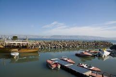内盖夫加利利的海运 免版税图库摄影