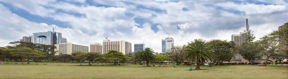内罗毕地平线  免版税图库摄影