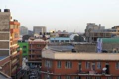 内罗毕屋顶视图  免版税库存图片