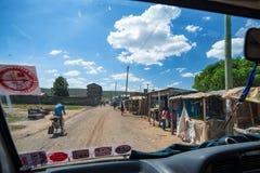 内罗毕, KENIA - 2014年12月:省看法  免版税库存图片