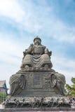 内蒙古,中国- 2015年8月13日:俺答汗(Alata雕象  免版税图库摄影