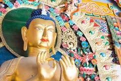 内蒙古,中国- 2015年8月13日:在五塔的Budda雕象 免版税图库摄影