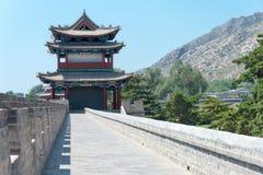 内蒙古,中国- 2015年8月14日:Meidai喇嘛寺院(Meidai查某 库存图片