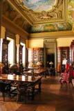 内部。联交所宫殿。波尔图。葡萄牙 库存图片