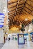 内部伊本・白图泰购物中心商店 每个大厅在s装饰 免版税库存图片