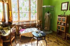 内部其中一个翼果博物馆Kurlina ` s的大厅 库存图片