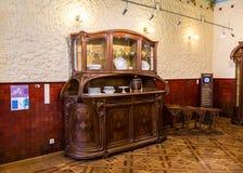 内部其中一个翼果博物馆Kurlina ` s的大厅 免版税图库摄影