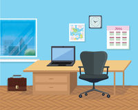 内部办公室室 design illustration space 库存图片