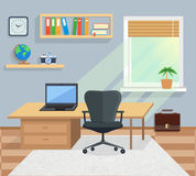 内部办公室室 design illustration space 库存照片