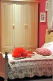 内部卧室的子项 图库摄影