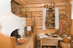 内部厨房附属建筑 库存图片