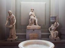 内部和梵蒂冈的建筑细节 免版税库存图片