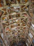 内部和梵蒂冈的建筑细节 免版税图库摄影