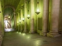 内部和梵蒂冈的建筑细节 库存图片