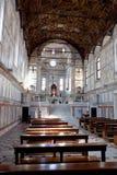内部圣玛丽亚dei Miracoli,威尼斯,意大利 免版税库存照片