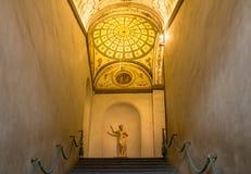 内部在Palazzo Vecchio老宫殿佛罗伦萨,托斯卡纳, Ital 库存图片