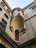 内部塔楼, Conciergerie,巴黎,法国 免版税库存图片
