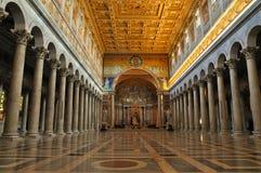 内部外部保罗圣徒墙壁 库存图片