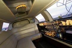 内部大型高级轿车 库存图片