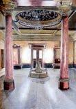 内部宫殿草图 库存照片