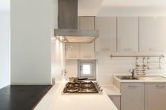 内部新的公寓 免版税库存图片