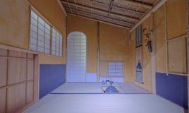 内部日语 库存照片