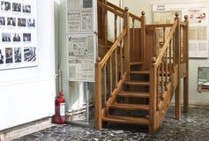 内部楼梯 免版税库存照片