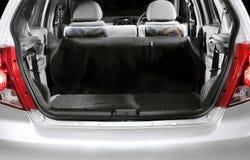 内部汽车的后座 免版税库存图片