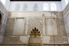 内部犹太教堂 图库摄影