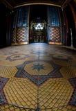 内部犹太教堂 库存图片