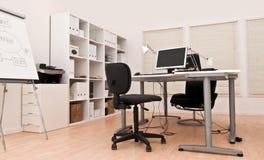 内部现代办公室 免版税库存图片